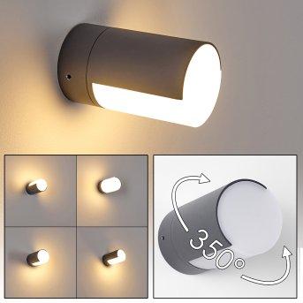 Baulund Zewnętrzny kinkiet LED Antracytowy, 1-punktowy