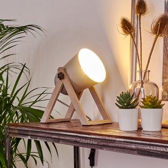 Novilly Lampa stołowa Ciemne drewno, 1-punktowy