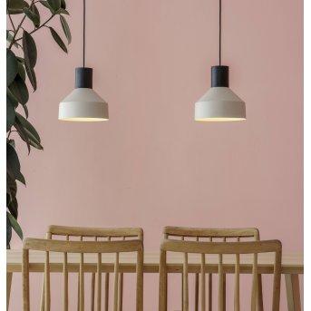 Faro Barcelona Kombo Lampa Wisząca W kolorze kremowym, 1-punktowy