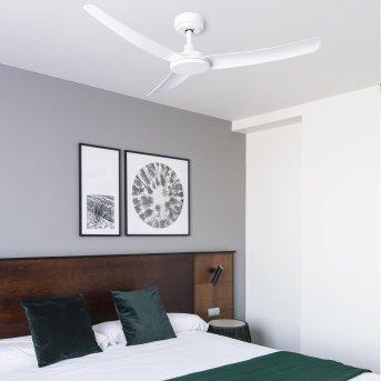 Faro Barcelona Siros wentylator sufitowy Biały, Zdalne sterowanie