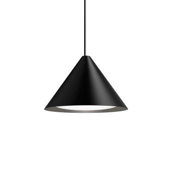 Louis Poulsen Keglen Lampa Wisząca LED Czarny, 1-punktowy