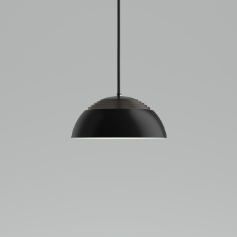 Louis Poulsen AJRoyal Lampa Wisząca LED Czarny, 1-punktowy