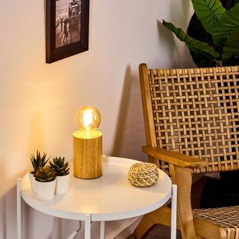 Castellar lampka nocna Jasne drewno, 1-punktowy