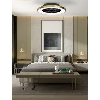 Mantra TIBET wentylator sufitowy LED Biały, 1-punktowy, Zdalne sterowanie