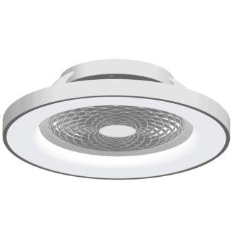 Mantra TIBET wentylator sufitowy LED Srebrny, 1-punktowy, Zdalne sterowanie