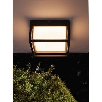 Mantra CHAMONIX Lampa Sufitowa zewnętrzna LED Siwy, 1-punktowy