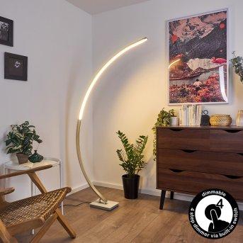 Uttorp Lampa Stojąca LED Srebrny, 1-punktowy