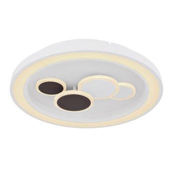 Globo NOLO Lampa Sufitowa LED Biały, 1-punktowy, Zdalne sterowanie, Zmieniacz kolorów