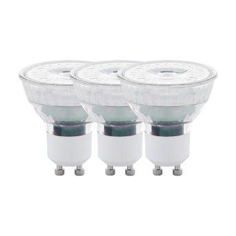 Eglo 3x LED GU10 4,5 Wat 2700 Kelwinów 345 Lumenów