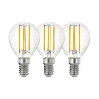 Eglo 3x LED E14 4 Wat 2700 Kelwinów 470 Lumenów