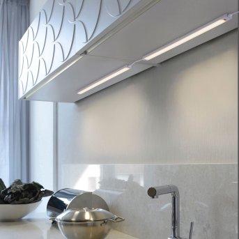 Paul Neuhaus AMON Oświetlenie podszafkowe LED Srebrny, 1-punktowy, Czujnik ruchu