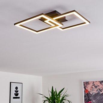 Thara Lampa Sufitowa LED Czarny, 1-punktowy