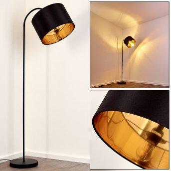 Pattburg Lampa Stojąca Czarny, 1-punktowy