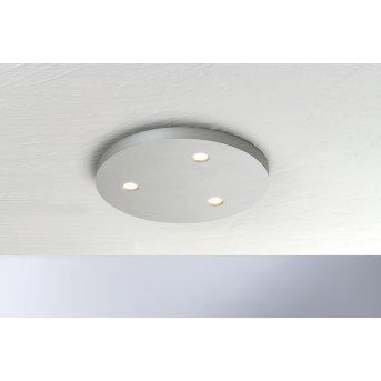 Bopp-Leuchten CLOSE Lampa Sufitowa LED Srebrny, 3-punktowe