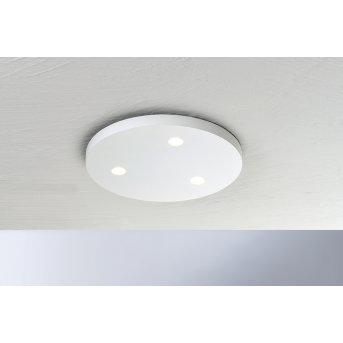 Bopp-Leuchten CLOSE Lampa Sufitowa LED Biały, 3-punktowe