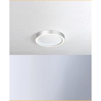 Bopp-Leuchten AURA Lampa Sufitowa LED Srebrny, Biały, 1-punktowy