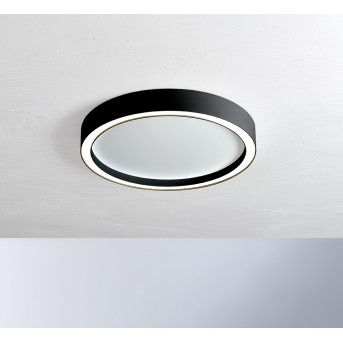Bopp-Leuchten AURA Lampa Sufitowa LED Czarny, Biały, 1-punktowy