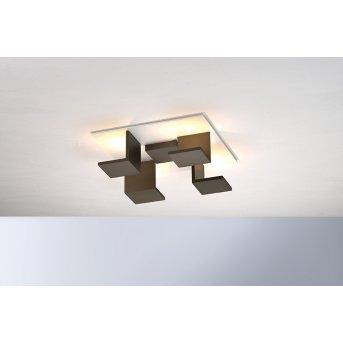 Bopp-Leuchten REFLECTIONS Lampa Sufitowa LED Biały, Brązowy, 4-punktowe