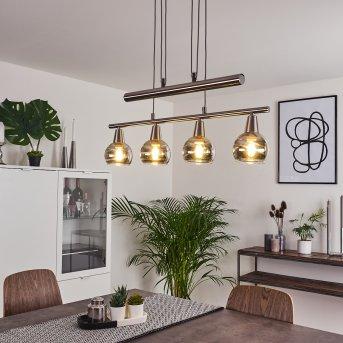 Warga Lampa Wisząca LED Nikiel matowy, 4-punktowe