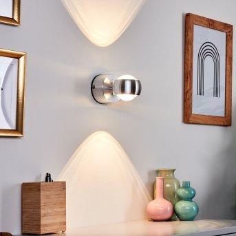FLORENZ lampa łazienkowa LED Aluminium, 2-punktowe