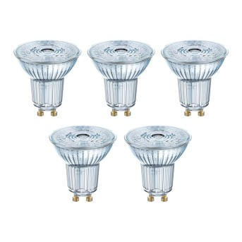 Osram 5x Set LED GU10 4,3 Wat 2700 Kelwinów 350 Lumenów