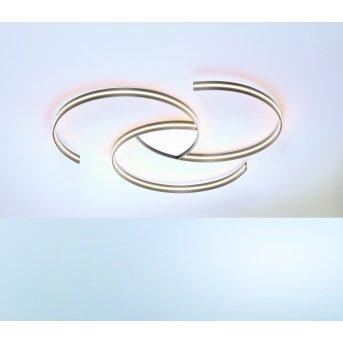 Escale CIRCLES Lampa Sufitowa LED Siwy, Biały, 1-punktowy