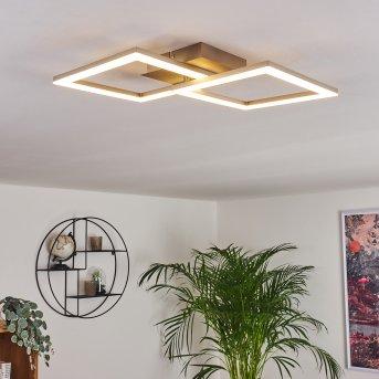Batuna Lampa Sufitowa LED Nikiel matowy, 1-punktowy