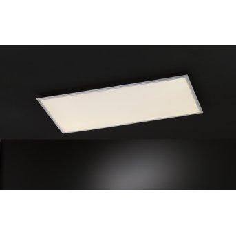 Wofi MILO Lampa Sufitowa LED Srebrny, 1-punktowy, Zdalne sterowanie, Zmieniacz kolorów