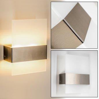 Vara Zewnętrzny kinkiet LED Stal nierdzewna, 2-punktowe
