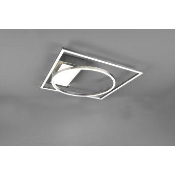 Trio Downey Lampa Sufitowa LED Nikiel matowy, 1-punktowy, Zdalne sterowanie