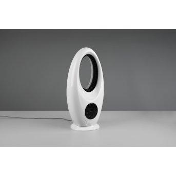 Reality Kalmar Wentylator stojący LED Czarny, Biały, 1-punktowy, Zdalne sterowanie, Zmieniacz kolorów