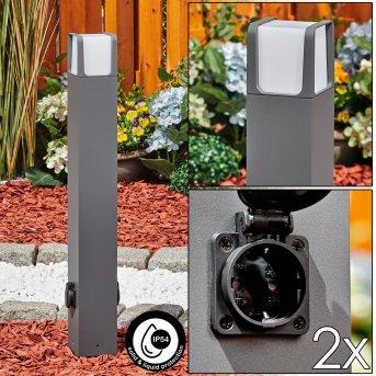 Lysabbel Oświetlenie ścieżek LED Antracytowy, 1-punktowy
