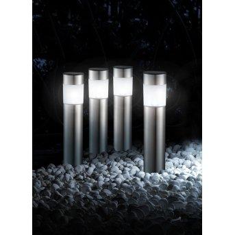 Globo CHUNGI zestaw lamp solarnych (4 Szt.) LED Stal nierdzewna, 1-punktowy