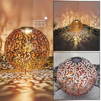Paradiski Lampa solarna LED Srebrny, Miedź, 1-punktowy