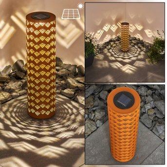 Parikia Lampa solarna LED Rudy, 1-punktowy