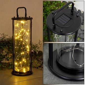Aracaju Lampa solarna LED Czarny, 1-punktowy