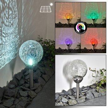 Carbonia Oświetlenie ścieżek LED Srebrny, 2-punktowe, Zmieniacz kolorów