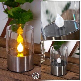 Wroclaw Lampa solarna LED Srebrny, 1-punktowy