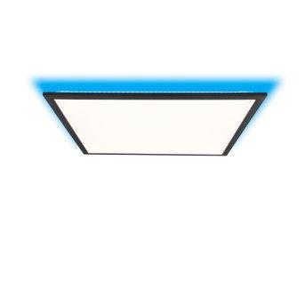 Brilliant Allie Lampa Sufitowa LED Czarny, 1-punktowy, Zdalne sterowanie
