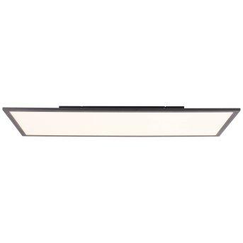 Brilliant Jacinda Lampa Sufitowa LED Czarny, 1-punktowy, Zdalne sterowanie