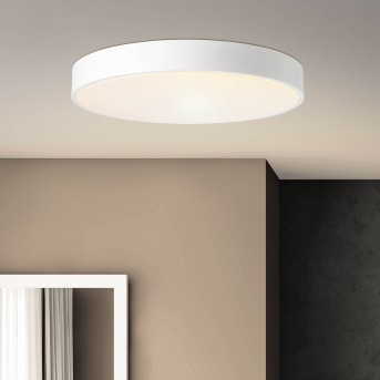 Brillliant Slimline Lampa Sufitowa LED Biały, 1-punktowy, Zdalne sterowanie