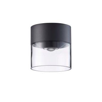 LCD 5068 Lampa Sufitowa zewnętrzna LED Czarny, 1-punktowy