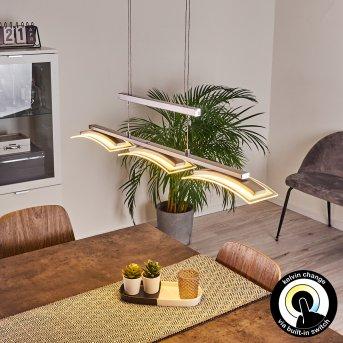 Bolonda Lampa Wisząca LED Nikiel matowy, 3-punktowe