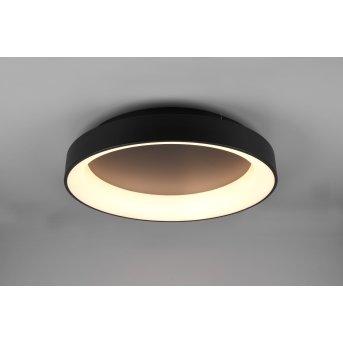 Trio Girona Lampa Sufitowa LED Czarny, 1-punktowy, Zdalne sterowanie