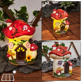 Katiao Lampa solarna LED Czerwony, Brązowy, Pomarańczowy, Różowy, 1-punktowy