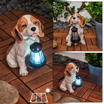 Sofie Lampa solarna LED Czarny, Biały, Pomarańczowy, 1-punktowy