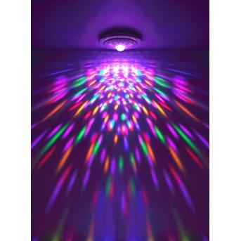 Globo SANTINA Lampa Sufitowa LED Biały, 1-punktowy, Zdalne sterowanie