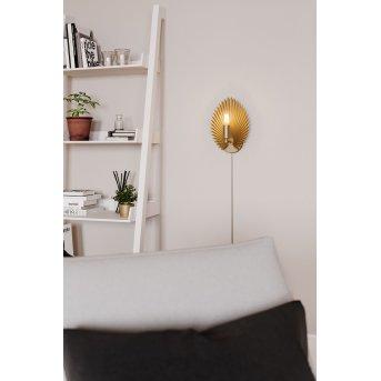 By Rydens Aruba Lampa ścienna Złoty, 1-punktowy