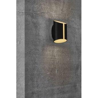 Nordlux SMARTLIGHT Zewnętrzny kinkiet LED Czarny, 2-punktowe