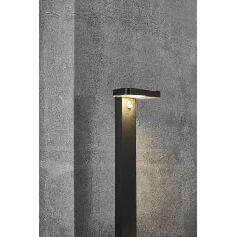 Nordlux RICA Lampy solarne LED Czarny, 1-punktowy